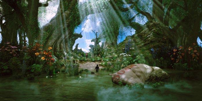 «Оз: Великий и Ужасный» (Oz: The Great and Powerful): кадры к 3D-фэнтези