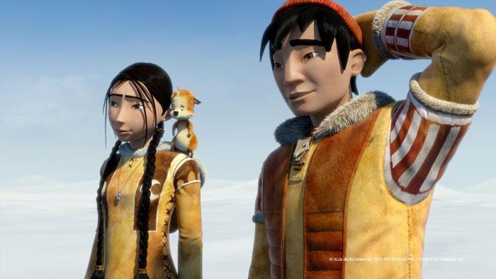 3D-анимация «Легенда о Сариле» (The Legend of Sarila): новые кадры