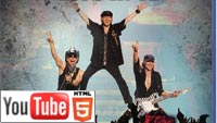 Scorpions: живое выступление на YouTube стерео 3D