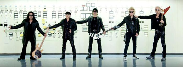 Scorpions «Get your Sting and Blackout» на YouTube стерео 3D
