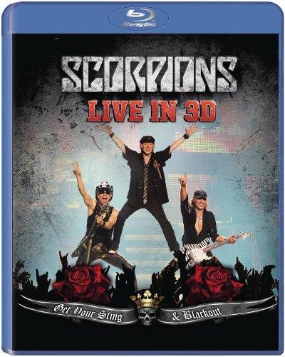 Живое выступление Scorpions на YouTube стерео 3D