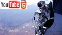 YouTube 3D-анимация: как проходил прыжок из стратосферы