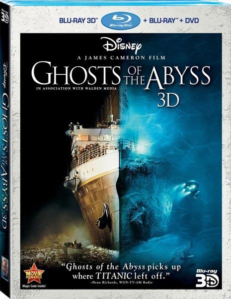 «Призраки бездны: Титаник 3D» на дисках Blu-ray 3D