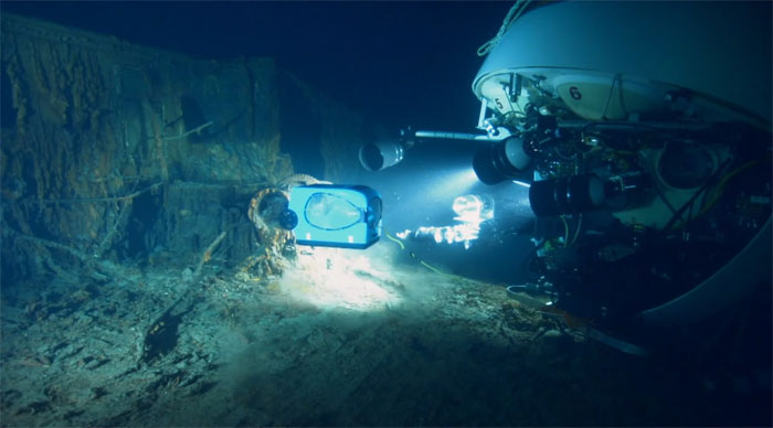 «Призраки бездны: Титаник 3D» (Ghosts of the Abyss 3D) на дисках Blu-ray 3D