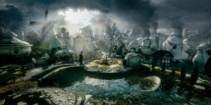 Создание 3D-ленты «Оз: Великий и ужасный» (Oz: The Great and Powerful)