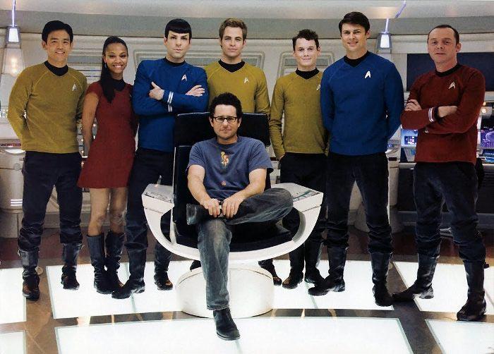 Режиссер фантастического экшена «Стартрек: Возмездие» (Star Trek Into Darkness) Джей Джей Абрамс (J.J Abrams)