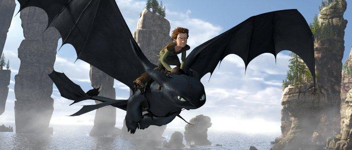 Дайджест: 3D-фильм «Как приручить дракона» (How to Train Your Dragon)