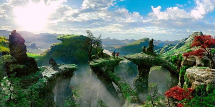 Ключевые персонажи 3D-ленты «Оз: Великий и ужасный» (Oz: The Great and Powerful)