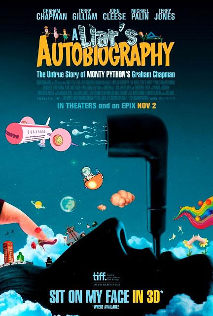 Мировая премьера 3D-мультика «Автобиография лжеца: Правдивая история Грэма Чепмена» назначена на 30 мая 2013 года