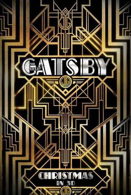 Новый постер к 3D-драме «Великий Гэтсби» (The Great Gatsby)