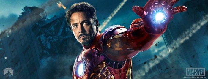 Роберт Дауни младший (Robert Downey Jr.) в 3D-ленте «Железный человек 3» (Iron Man 3)
