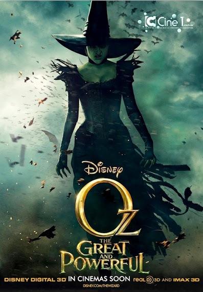 Постер к 3D-мультику «Оз: Великий и Ужасный»
