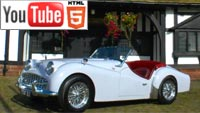 Классические автомобили на YouTube 3D
