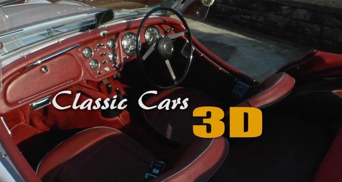 «Classic Cars 3D»: классические автомобили на YouTube 3D