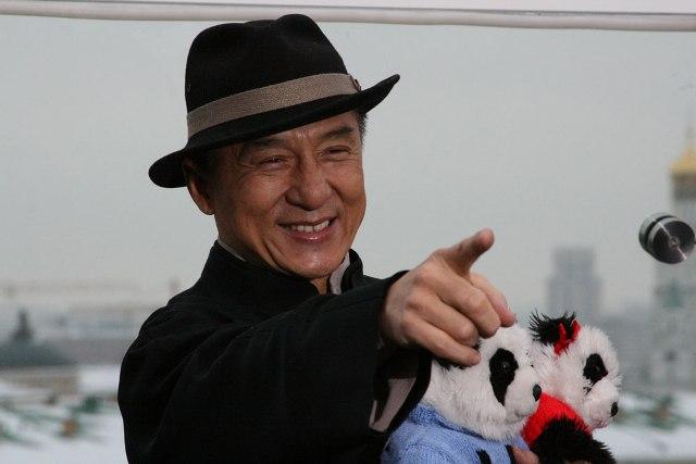 Джеки Чан в России