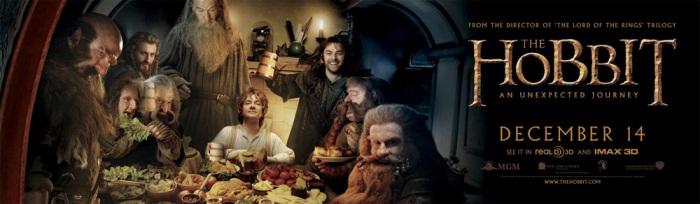 Лента «Хоббит: Нежданное путешествие» (The Hobbit: An Unexpected Journey), снятая в формате HFR 3D