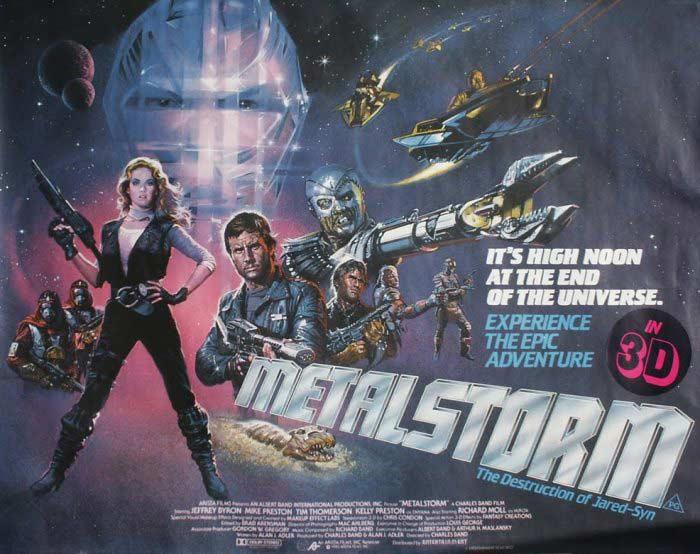 YouTube 3D-трейлер к фантастическому экшену «Металлический шторм» (Metalstorm: The Destruction of Jared-Syn)