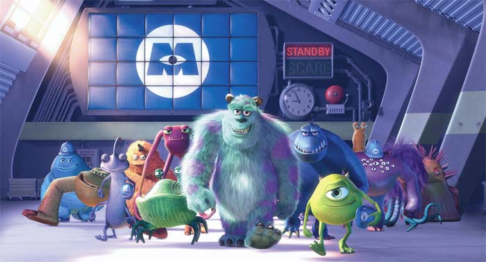 3D-версия мульта «Корпорация монстров» (Monsters, Inc.3D): YouTube стерео 3D-трейлер