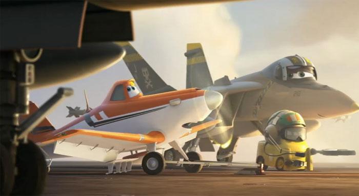 Первый YouTube 3D-трейлер к мульту «Аэротачки 3D» (Planes 3D)