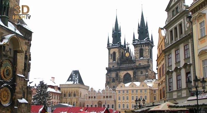 Destinations3D Prague на хостинге YouTube 3D