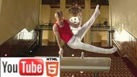 Свежее спортивное стерео на YouTube 3D