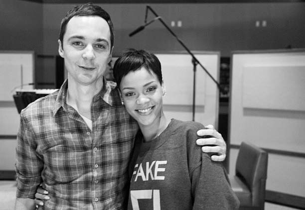 Джим Парсонс (Jim Parsons) и Рианна (Rihanna) в 3D-анимации «Happy Smekday!»