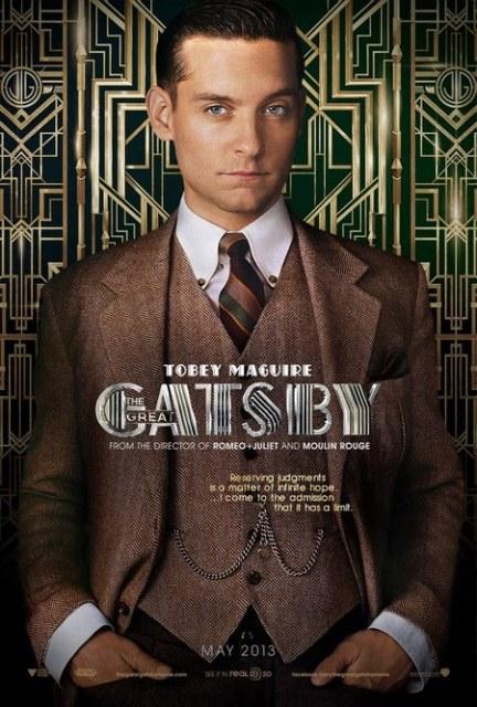 Постер к 3D-картине «Великий Гэтсби»