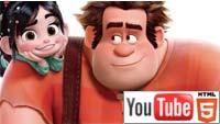 YouTube 3D-трейлер к анимации «Ральф-разрушитель»