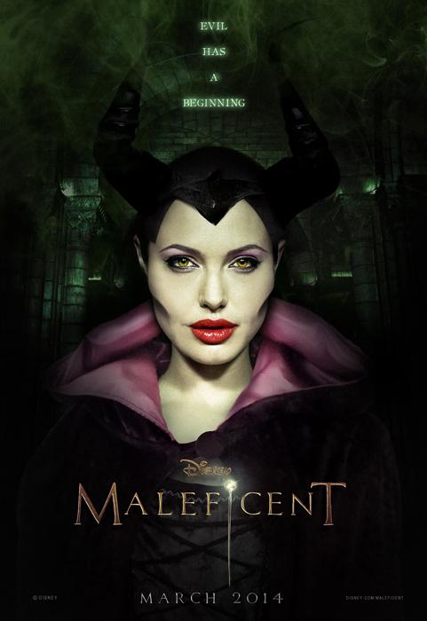 Анджелина Джоли в роли главной героини в 3D-фильме «Малефисента»