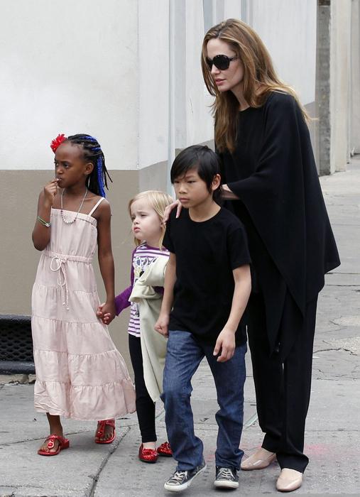 Дебют 4-хлетней дочери Джоли в роли Авроры в картине «Малефисента 3D»