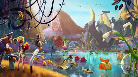 3D-мульт «Облачно 2: Месть Объедков 3D»