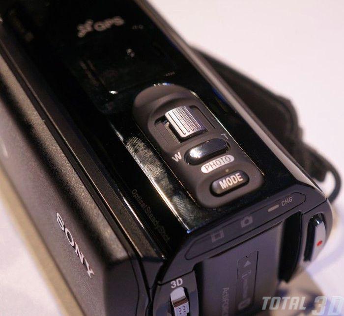 Sony HDR-TD30V, CES 2013, управление
