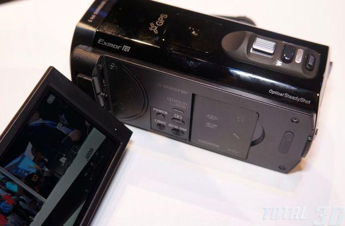 Sony HDR-TD30V на CES 2013