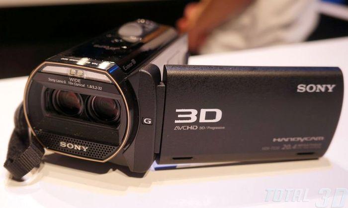 Sony HDR-TD30V, CES 2013