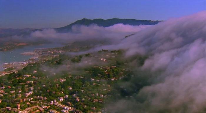 Стереоролик Jet Stream из коллекции Луи Шварцберга (Louis Schwartzberg): облака на YouTube 3D
