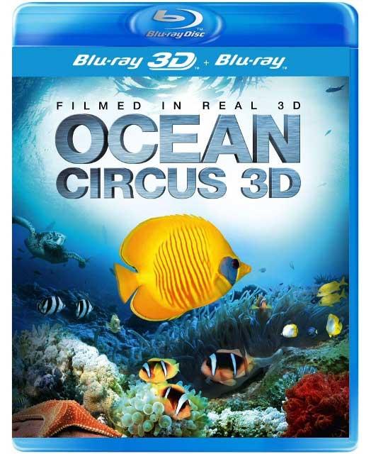 3D-трейлер к документалке «Цирк океана 3D»