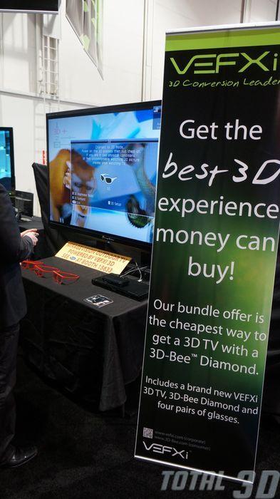 CES 2013: 2D/3D-конвертер VEFXi 3D-Bee Diamond