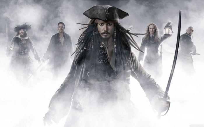 «Пираты Карибского моря» (Pirates of the Caribbean) от киностудии Disney