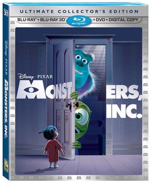 «Корпорация монстров» (Monsters, Inc.) – скоро на дисках Blu-ray 3D