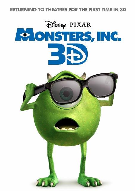 «Корпорация монстров» (Monsters, Inc.) от Disney/Pixar в стерео 3D