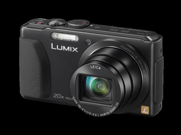 CES 2013: цифровая компактная 3D-камера Panasonic LUMIX DMC-TZ40 с процессором изображения Venus Engine
