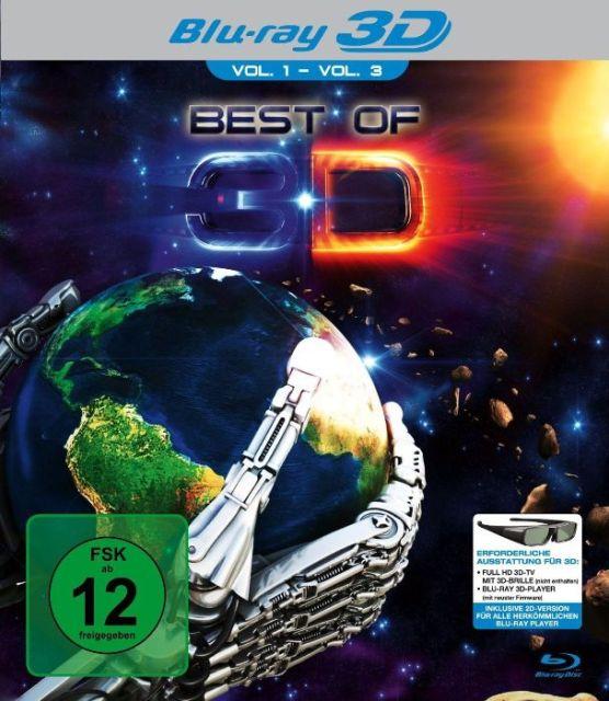 Рекламный ролик для BluRay 3D-коллекции «Best of 3D» на YouTube стерео 3D