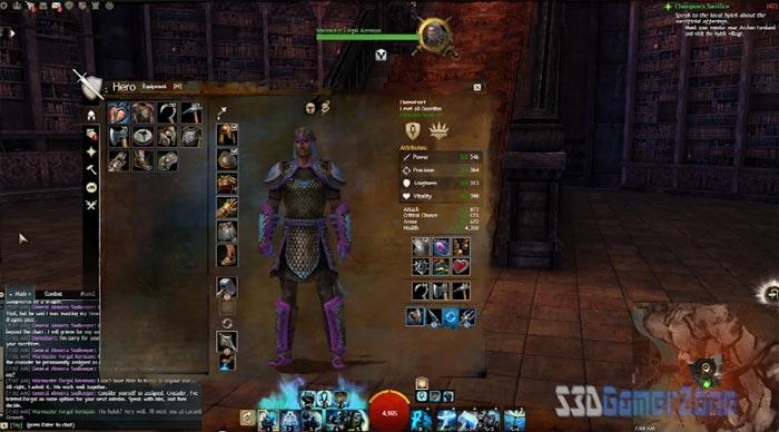 YouTube стерео 3D-обзор многопользовательской игры Guild Wars 2
