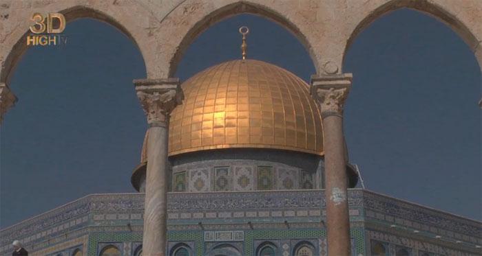 Destinations3D: город трех религий Иерусалим на YouTube 3D
