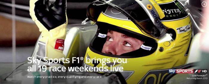 """Живая 3D-трансляция мирового гоночного чемпионата """"Формула-1"""" (FIA Formula One World Championship) на канале Sky 3D"""