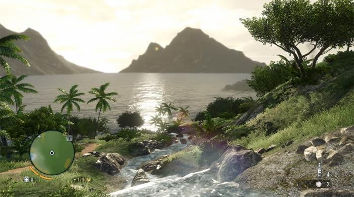YouTube стерео 3D: трёхмерные скриншоты к шутеру Far Cry 3