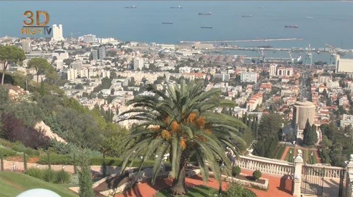 Хайфа и Акко: Трёхмерный Израиль на YouTube стерео 3D