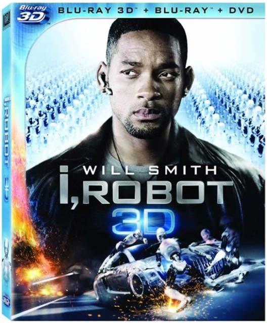 YouTube 3D-ролики из стереофильма «Я, робот 3D» (I, Robot 3D) с Уиллом Смитом (Will Smith)