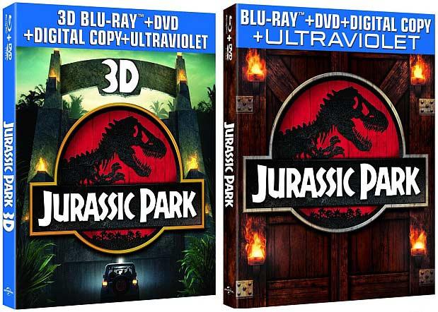«Парк Юрского периода» (Jurassic Park 3D) на Blu-ray 3D