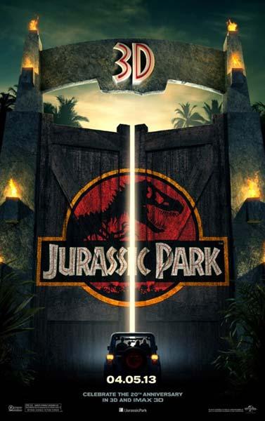 «Парк Юрского периода» (Jurassic Park 3D): YouTube 3D-видео к трёхмерной ленте
